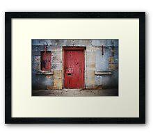 Fort Door Framed Print
