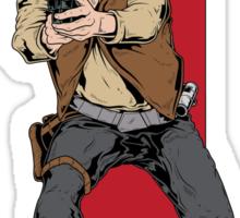 Hand Solo! Handt Rebel Fighter Sticker