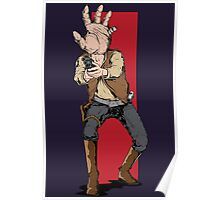 Hand Solo! Handt Rebel Fighter Poster