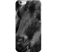 Young Goat BW iPhone Case/Skin