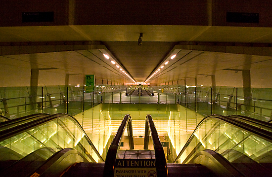 Escalators and Travelators by Keegan Wong