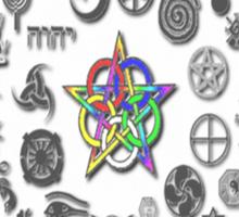 Polytheistic Monodeism Sticker