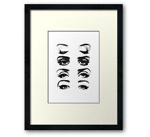 Lana's Eyes Framed Print