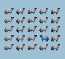 The Blue Sheep by Ram Castillo