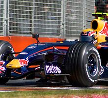 Webber at Turn 7 by Chris Putnam