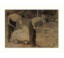 daddies 1957 Art Print