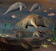 A Manatee's World by Lisa  Weber