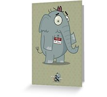 Mr. Mouse. Greeting Card