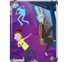 Rick and Morty - Doctor Who Mash Up!  iPad Case/Skin