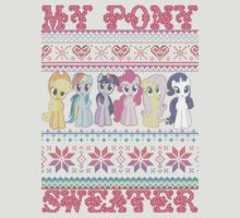 My Pony christmas sweater by hunnysause