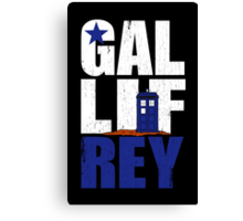 Time Lord Republic of Galifrey Canvas Print