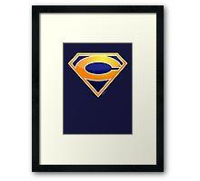 Super Bears of Chicago! Framed Print