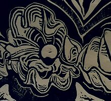 Giant Clams (Intaglio)- by Robert Dye