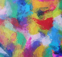 """""""In a Dream No.2"""" original abstract artwork by Laura Tozer by Laura Tozer"""