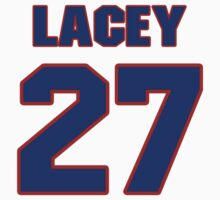 National football player Jacob Lacey jersey 27 by imsport
