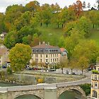 Aare Panorama from Nydeggbrücke 1 by kuntaldaftary