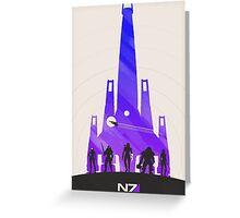 N7 (v. 6) Greeting Card