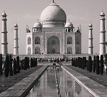 Taj Mahal by kateabell