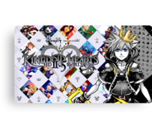 Sora - Kingdom Hearts 2.5 Canvas Print