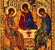 The Holy Trinity by Andrei Rublev by BritishYank