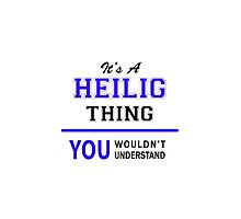 It's a HEILIG thing, you wouldn't understand !! by thenamer