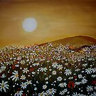 Daisy Field by Cherie Roe Dirksen