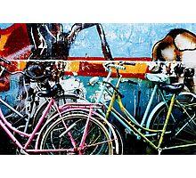 Bikes Amsterdam Photographic Print