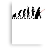 Dark side of Evolution Canvas Print