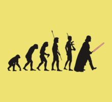 Dark side of Evolution Kids Clothes