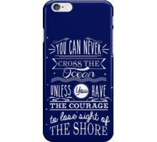 CROSS THE OCEAN iPhone Case/Skin
