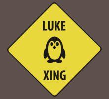 Luke XING (Crossing Sign) -Penguin by VioletDrive
