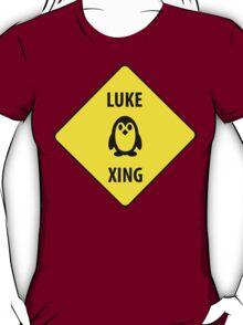 Luke XING (Crossing Sign) -Penguin T-Shirt