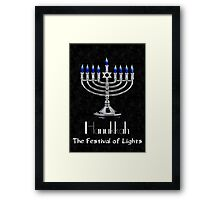 Hanukkah - The festival of Lights Framed Print