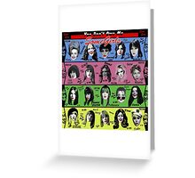 Women Who Rock Greeting Card