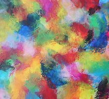 """""""In a Dream No.3"""" original abstract artwork by Laura Tozer by Laura Tozer"""