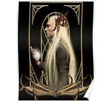 Thranduil and the Arkenstone Poster