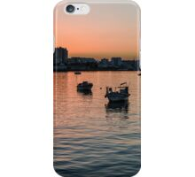Sunset on Portimao,  Portugal iPhone Case/Skin