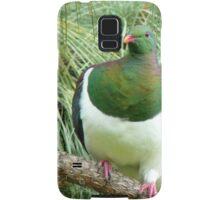 Did You Knock On My Wood? - Wood Pigeon - NZ Samsung Galaxy Case/Skin
