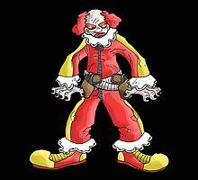 clowns of terror: bobo the ruthless! by kangarookid