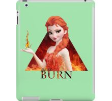 Disney's Frozen - Elsa - Let it burn iPad Case/Skin
