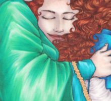 Brave: Merida and Elinor Sticker