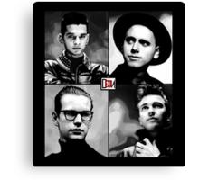 Depeche Mode :  101 Official t-shirt for Black Shirt Canvas Print