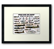 Wings over the Empire  Framed Print