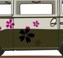 VW combi Sticker