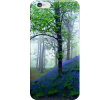 Misty Blue Hillfort iPhone Case/Skin