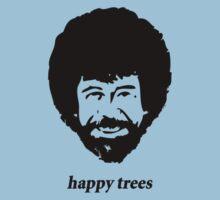 Bob Ross - happy trees by BananaAlmighty