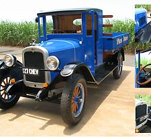 1927 Chev by Kathy Helen Pike