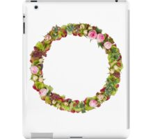 Capital Letter O Part of a set of letters, Numbers and symbols iPad Case/Skin