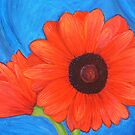 Red Gerberas by sweetscent62