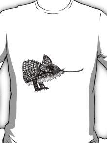 Chameleon Lizard T-Shirt Illustration / design / drawing. T-Shirt